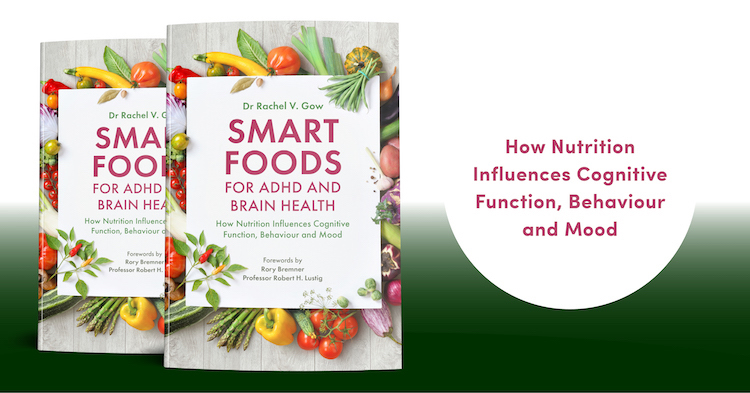 Book Cover Smart Foods for ADHD and Brain Health