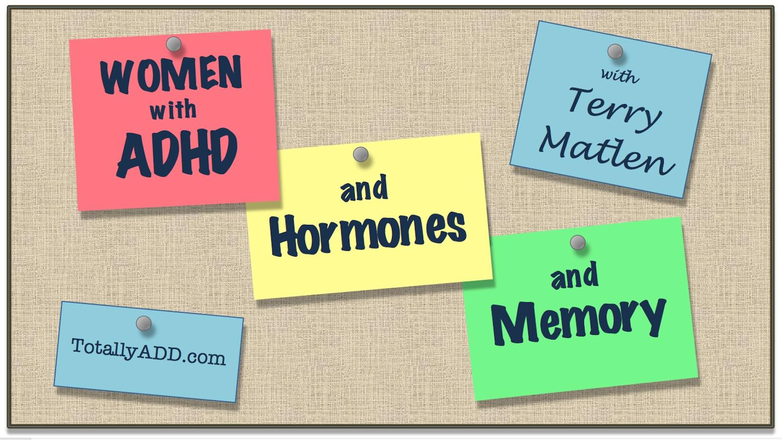 Video thumbnail ADHD Women Hormones Memory
