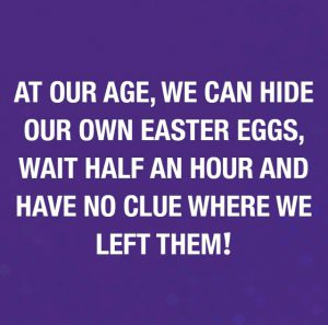 Meme about forgetting where you hid easter eggs