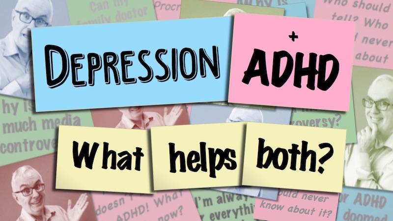 Depression and ADHD Video Thumbnail